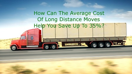Average Cost Of Long Distance Moves