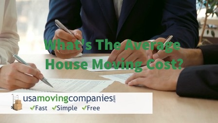 Average House Moving Cost