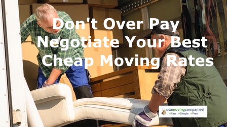 Cheap Moving Rates