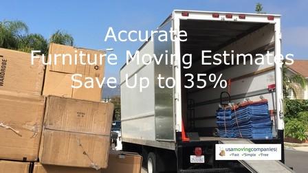 Furniture Moving Estimate