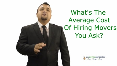 average cost of hiring movers