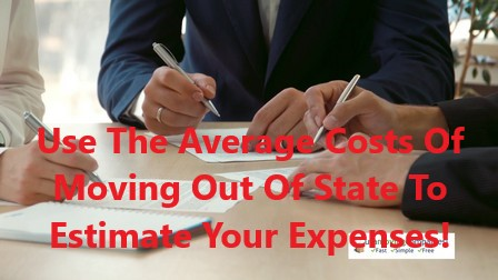 average cost of moving out of state