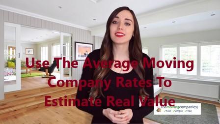 average moving company rates