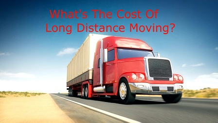 cost of long distance moving