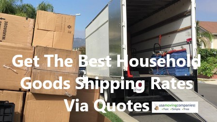 household goods shipping rates