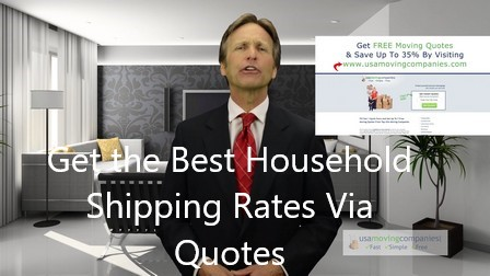 household shipping rates