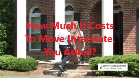 how much does it cost to move interstate