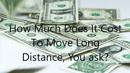how much does it cost to move long distance