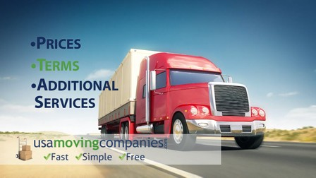 interstate moving companies costs