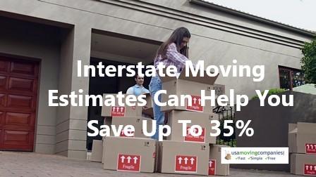interstate moving estimate