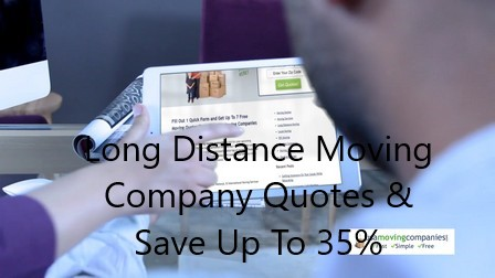 long distance moving company quotes