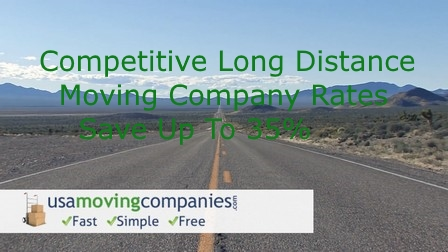 moving company long distance rates
