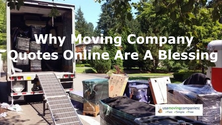moving company quotes online